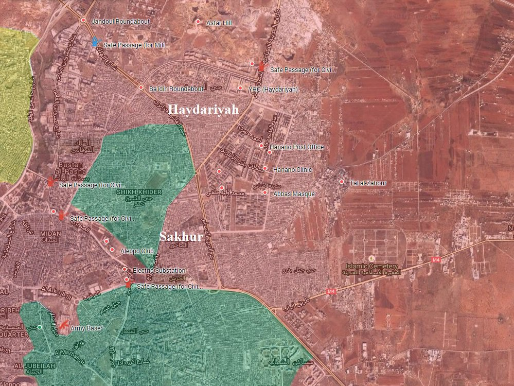 BREAKING: Northern Aleppo Fell into Hands of the Syrian Army
