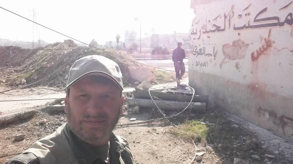 Syrian Troops Found ISIS-like Flag in Haydariyah Neighborhood of Aleppo City - Photo Report