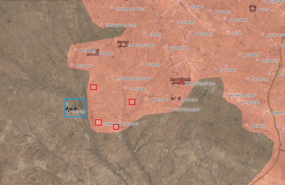 Popular Mobilization Units Storming Tel Abta East of Mosul