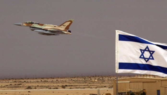 Israeli Jet Carries Out Air Strike near Damascus