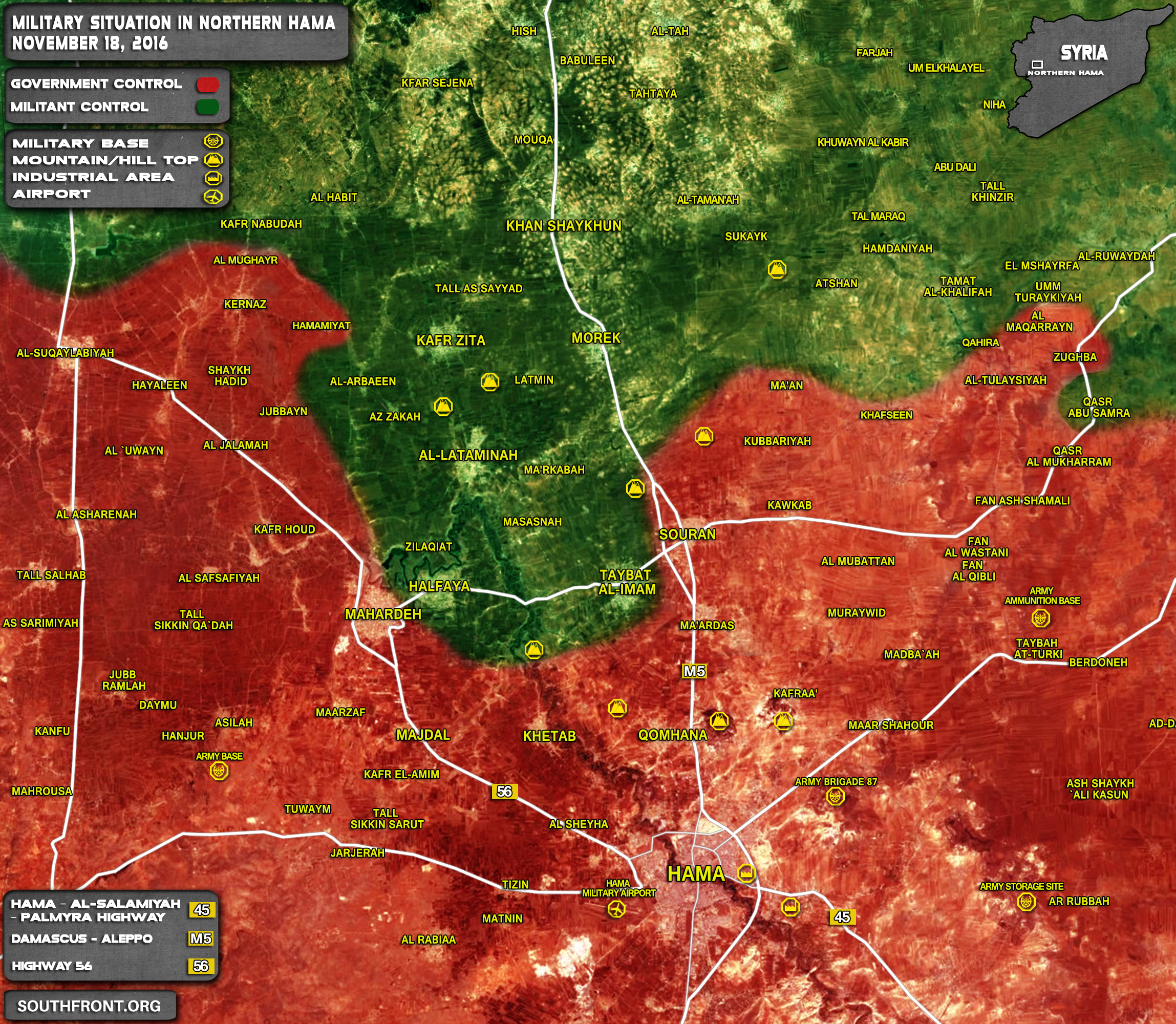 Militants Suffer Major Loses as Result of Syrian Air Strikes in Hama