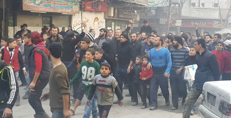 Terrorists Shoot Protester Civilians Dead in Aleppo: 27 Killed, 40 Wounded (Video)