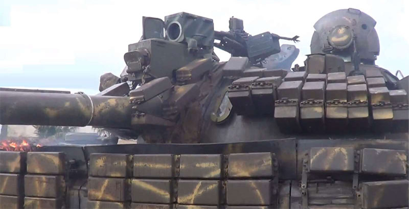 Syrian Tanks Use New Powerful Thermal Sights (Photo)