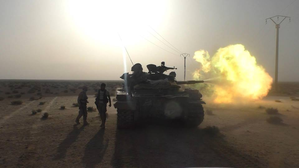 Syrian Army Captures Checkpoints from ISIS in New Push East of Palmyra