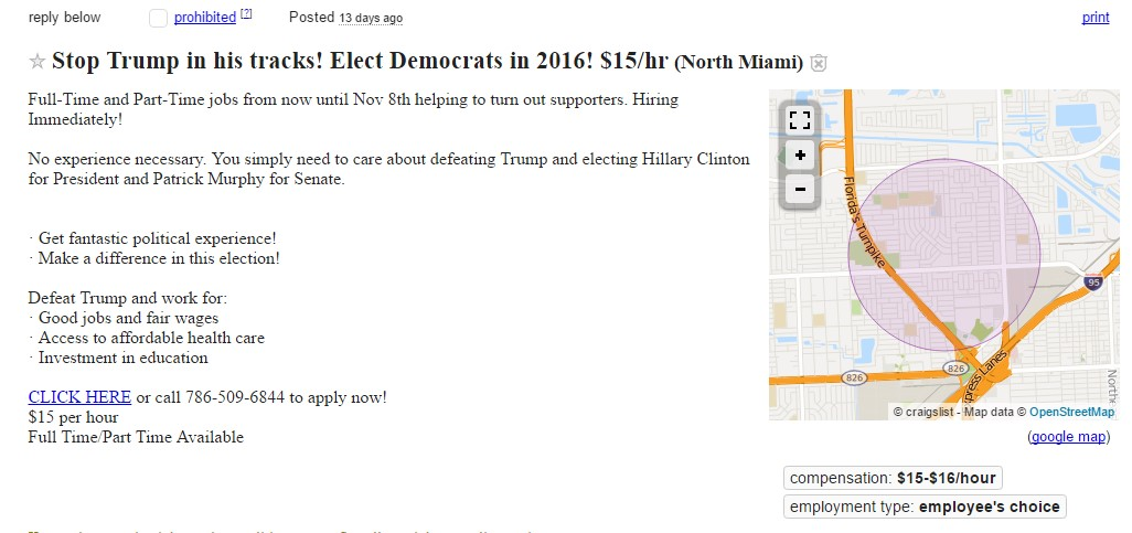 Pro-Hillary NGOs Massively Hire 'Ptotesters' for Anti-Trump Riots across the US