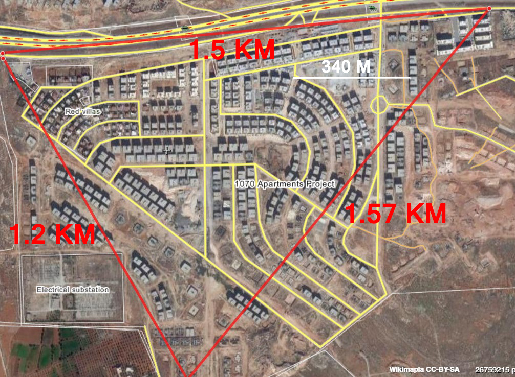Close Look at Military Situation in 1070 Aparment Project of Aleppo City