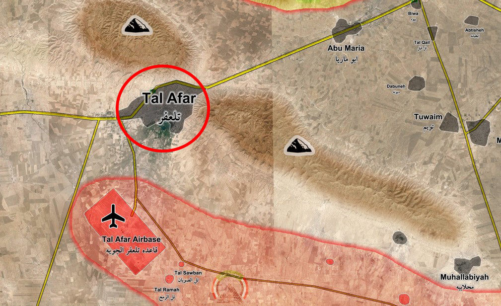 Popular Mobilization Units Advancing on Key ISIS-controlled Town West of Mosul (Video)