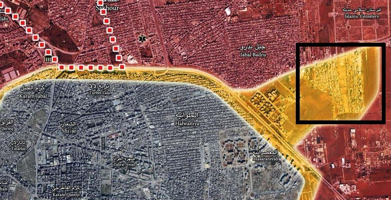 Syrian Army Liberate Talat al Barakat Area in Northeastern Aleppo