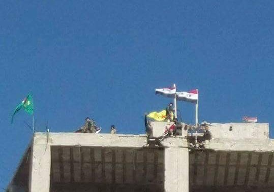 Syrian Army & Kurdish YPG Wave Flags Alongside Each Other in Aleppo City, Continue Joint Actions (Photos)