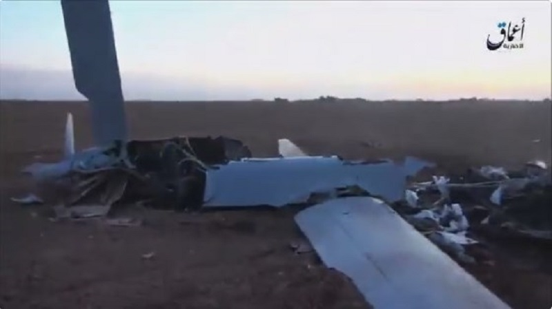 ISIS Downed the US Air Force's MQ-9 Reaper Combat Drone in Iraq (Video)