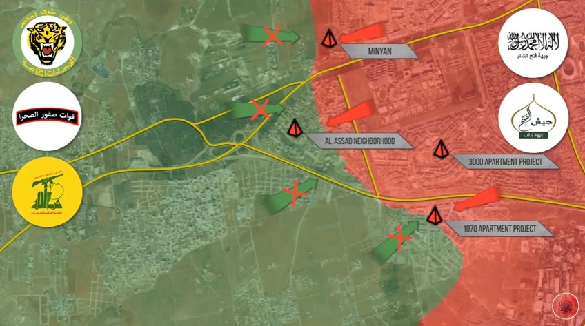 Overview of Military Situation in Aleppo City on November 5, 2016