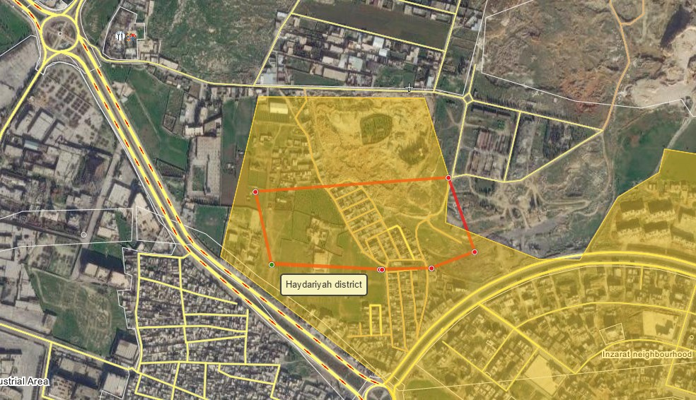 Government Forces Storm Northern Aleppo, Seize Points in Haydariyah