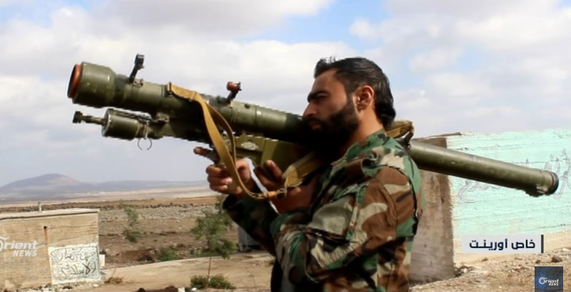 Syrian Militants Boast of Portable Anti-Aircraft Missiles (Video)