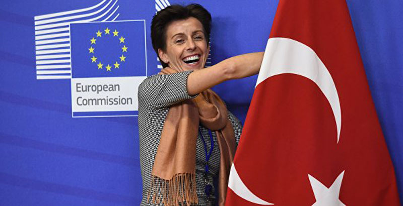 European Parliament Approves Interruption of Talks on Turkey's Accession to EU