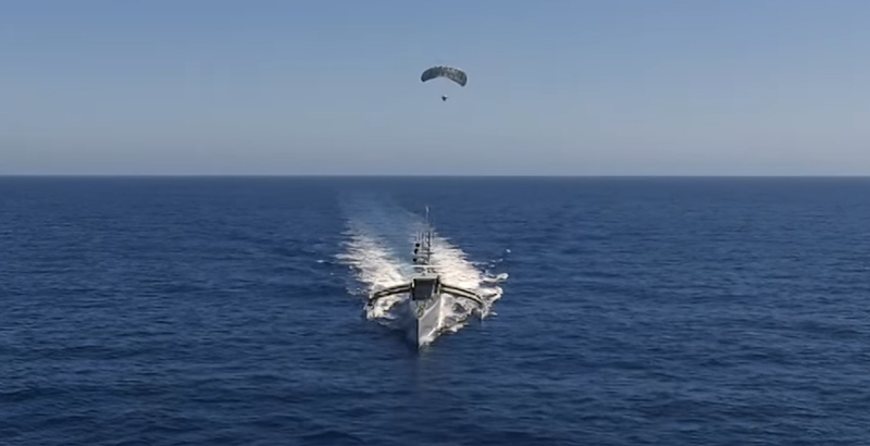 US Tests Parasailing Radar Connected with Robotic Vessel (Video)