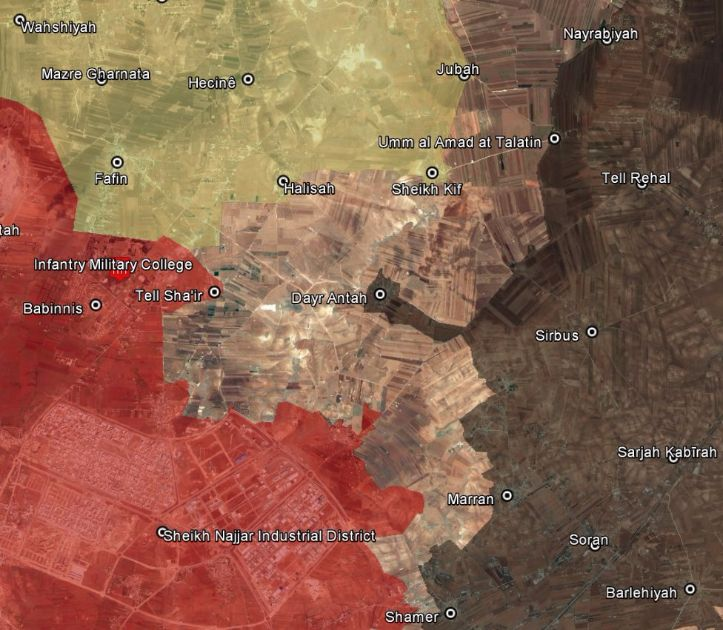 Kurdish Forces and Syrian Army Intensify Operations in Northern Aleppo