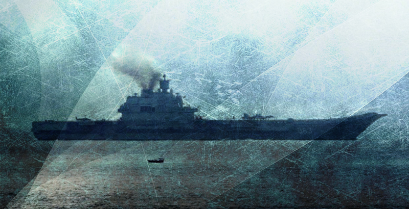 Russia's Admiral Kuznetsov Battlegroup Reaches Syrian Waters
