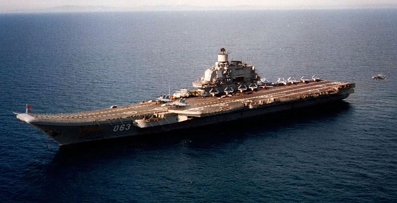 Admiral Kuznetsov Heavy Aircraft-Carrying Missile Cruiser to Be Upgraded in 2018