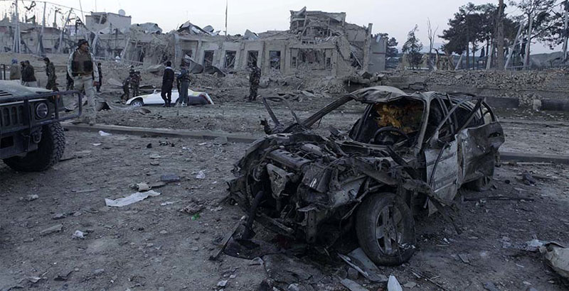 Suicide Bomber Rams German Consulate in Afghanistan: 2 Killed, 60 Wounded