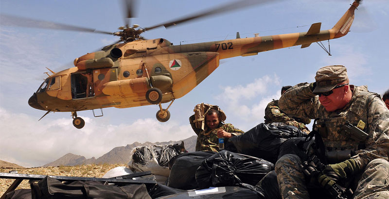 Taliban & ISIS Take Responsibility for Downed Afghan Combat Helicopter