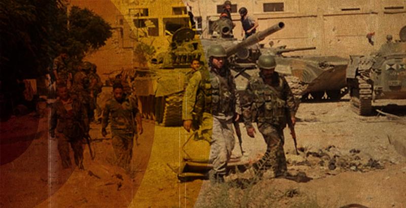 Jaish al-Fatah Retreating from Minyan Area of Aleppo City