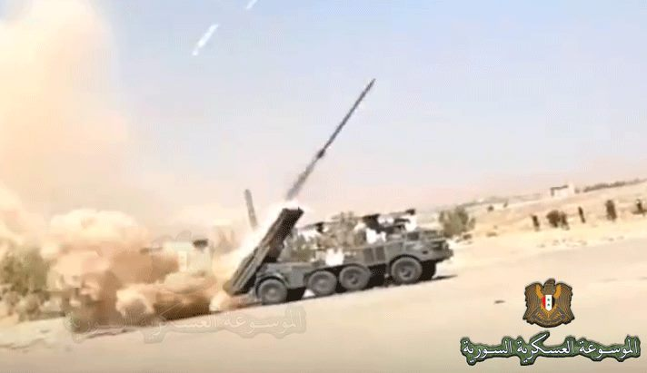 Hell for Militants: Uragan Multiple Launch Rocket System as Effective Weapon on Syrian Battleground (Photos)