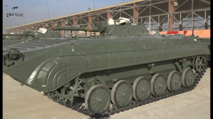 Iraq Receives A Batch Of BMP-1 From Bulgaria