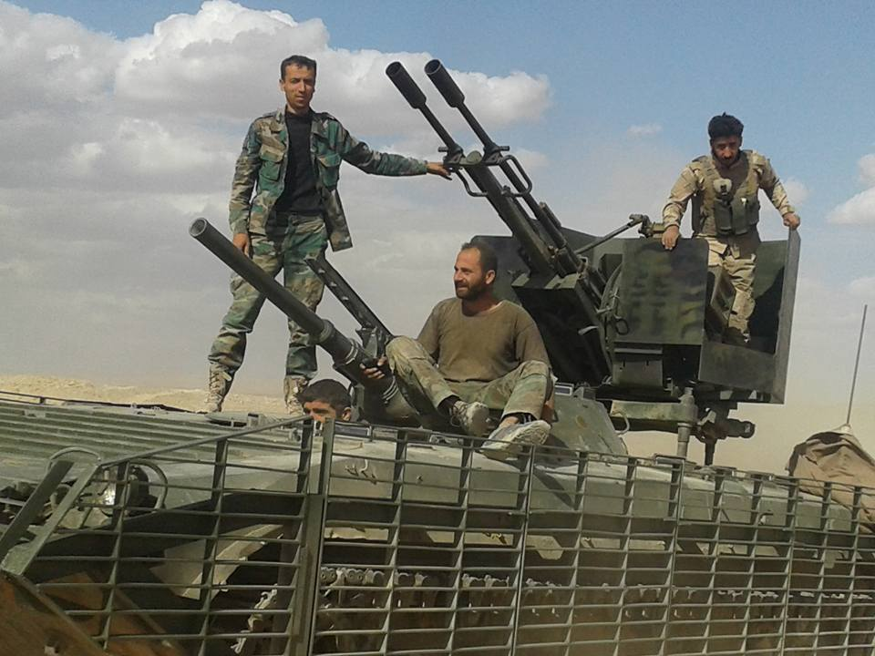 Remote-Controlled Gun Mount in Action in Syria (Photo)