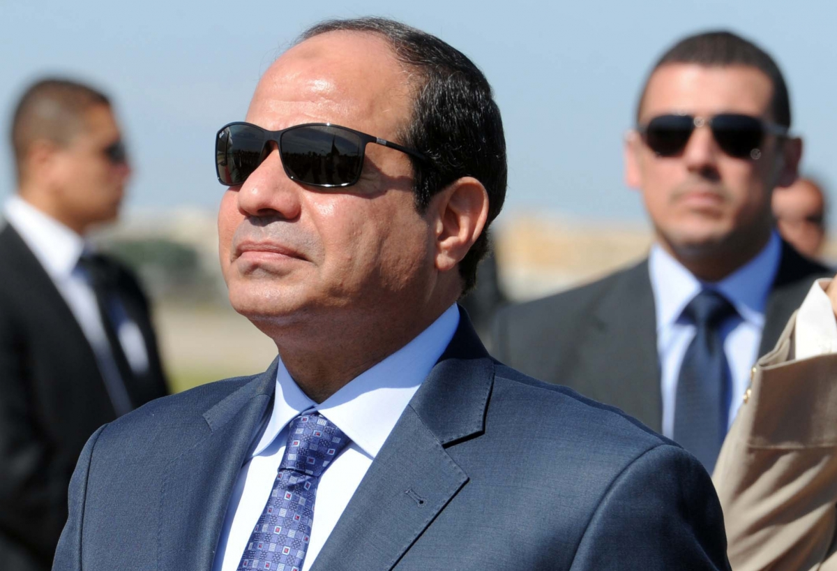 Egyptian President Calls for International Support for Syria, Libya, Iraq Armies
