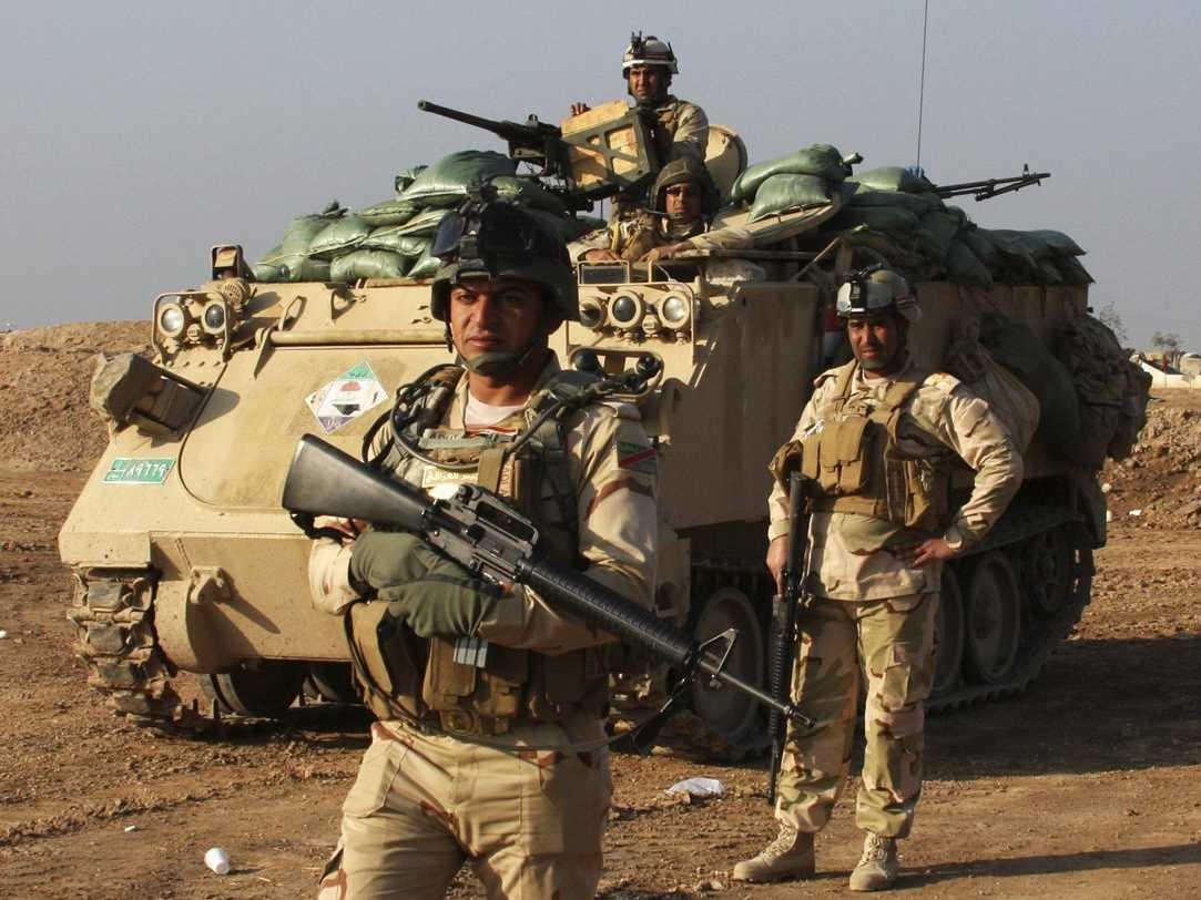 Iraqi Forces Liberate Hayy Adan and Akhaa near Mosul