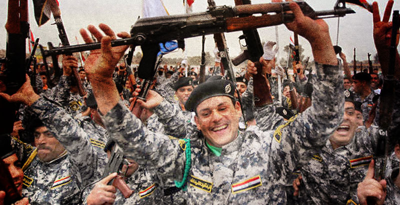 Iraqi Forces Liberate 7 Villages near Mosul