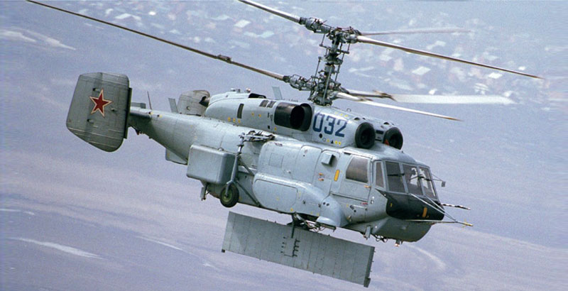 Newest Russian Helicopter Allows to Carry Out Mass Missile Attack in Syria