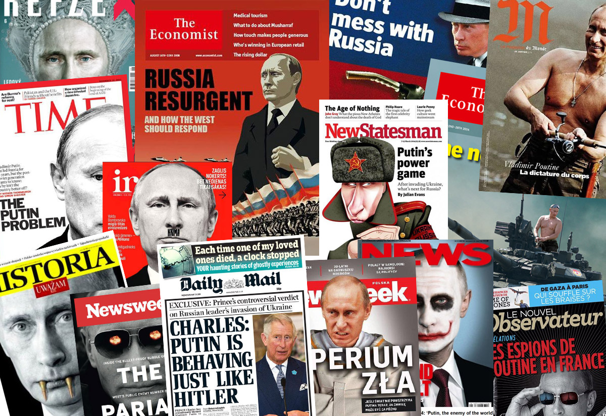 The Russian Media just Loves the Campaign to Demonize Putin