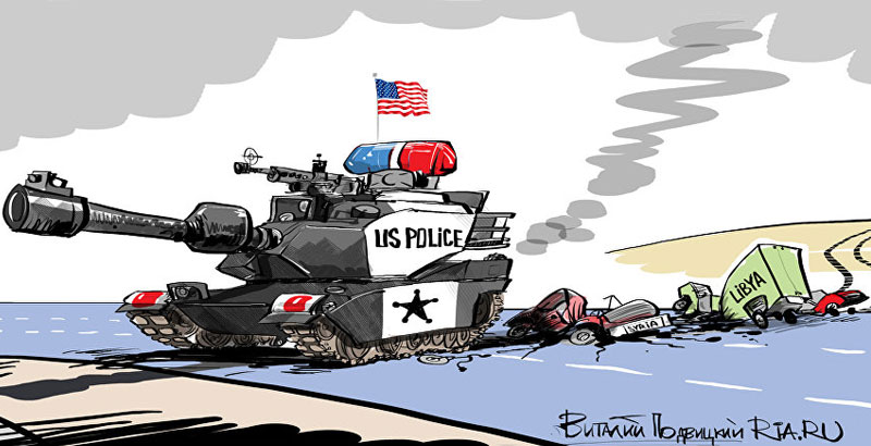 """NATO Ex-Secretary Believes US Has to Operate as """"World's Policeman"""""""