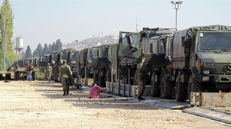 Turkey Sends 2nd Military Convoy to Iraqi Border