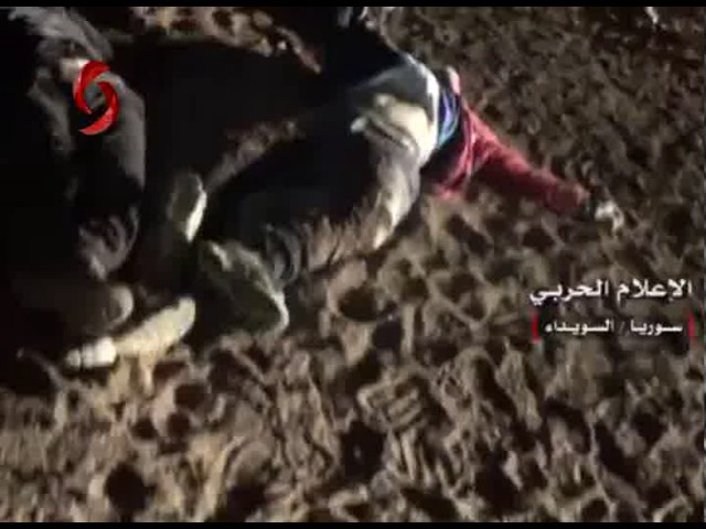 [Graphic 18+] Syrian Army kills scores of jihadist rebels along Damascus-Sweida Highway
