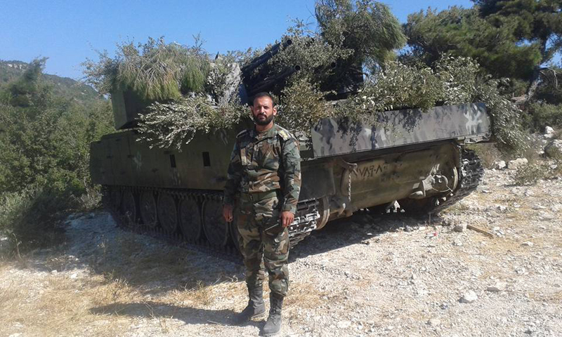 Syrian Army Upgraded ZSU-23-4 Shilka Self-Propelled Anti-Aircraft Gun for Ground Combat