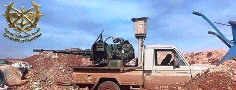 New Anti-Missile Electrooptic Devices Spotted on Syrian Tanks (Photos)