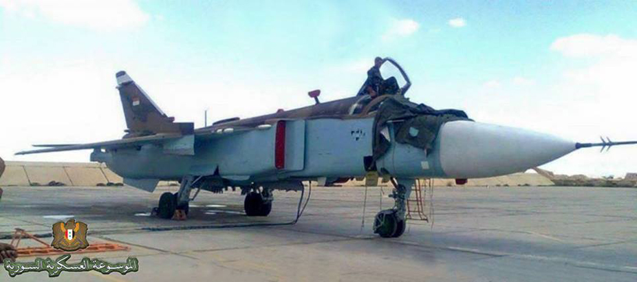 US Special Forces Fear Su-24M2s of Syrian Air Force
