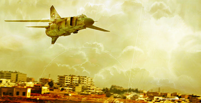 Terrorists' Senior Commander Killed in Air Raid in Damascus