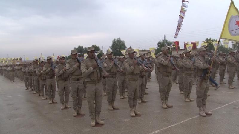 Syrian Kurds Setting Up Rojava Army (Video)