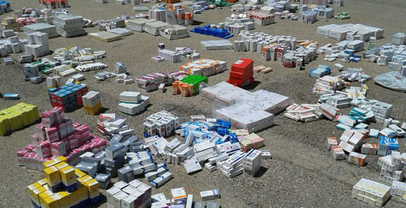 Syrian Army Seizes Stolen Medicines Destined for Terrorists in Hama