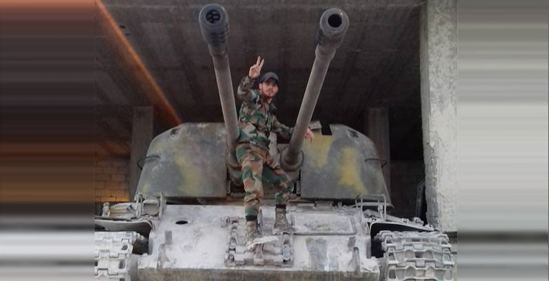 ZSU-57-2 'Hellish Threshing-Machine' Once Again Spotted in Syria