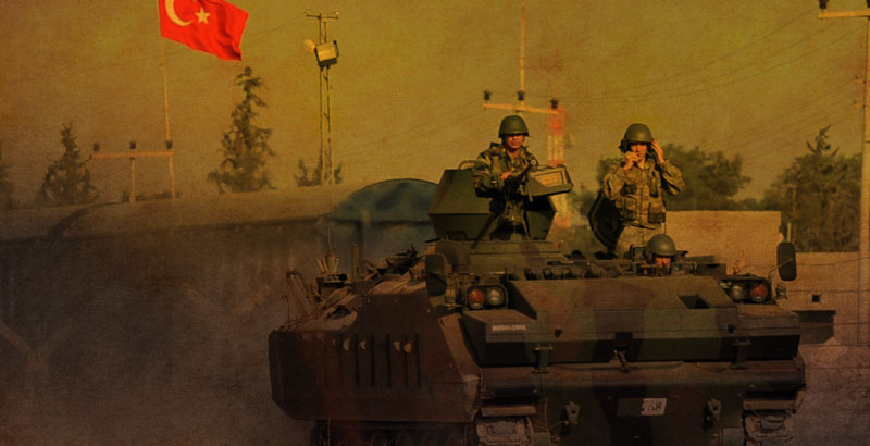 Turkish Army Loses 17 Servicemen & 30 Armoured Vehicles in Northern Syria