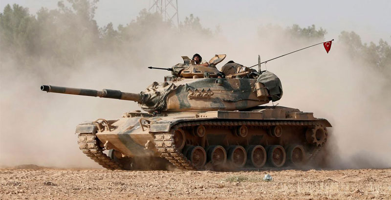 US-Led Coalition Does Not Support Turkey's Offensive on al-Bab
