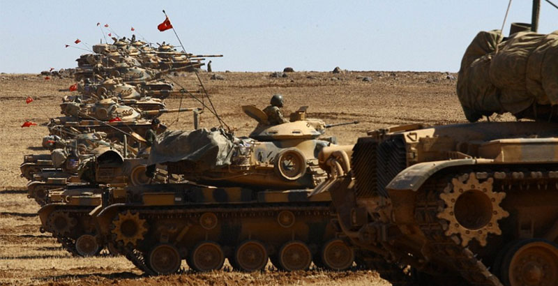 Turkey Deploys 90 Battle Tanks in Northern Syria – Report