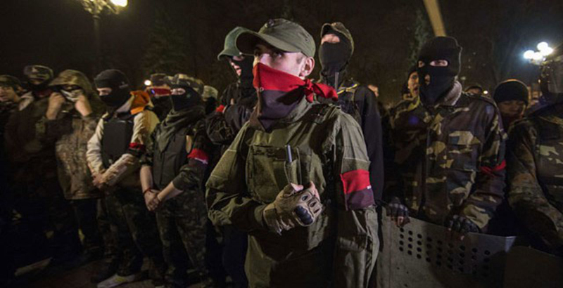 Extreme Ukrainian Fundamentalists Start Massive Clearing Operation in the East