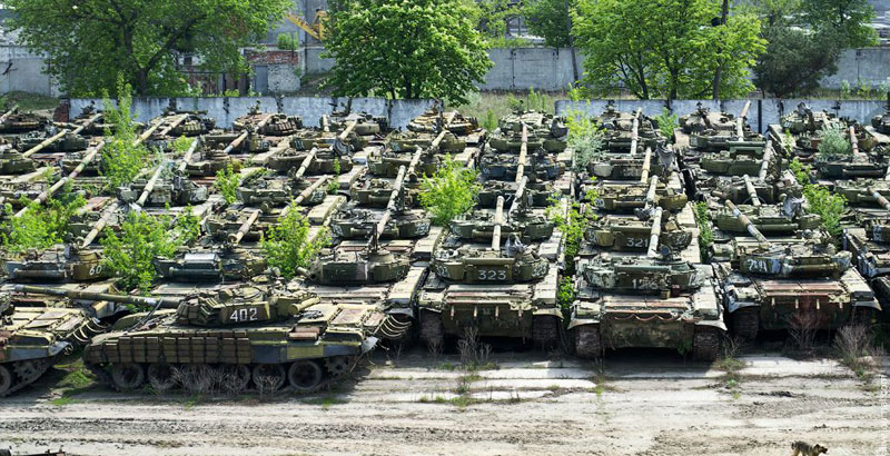 Expert: Average Age of Ukrainian Military Hardware Is More than 40 Years