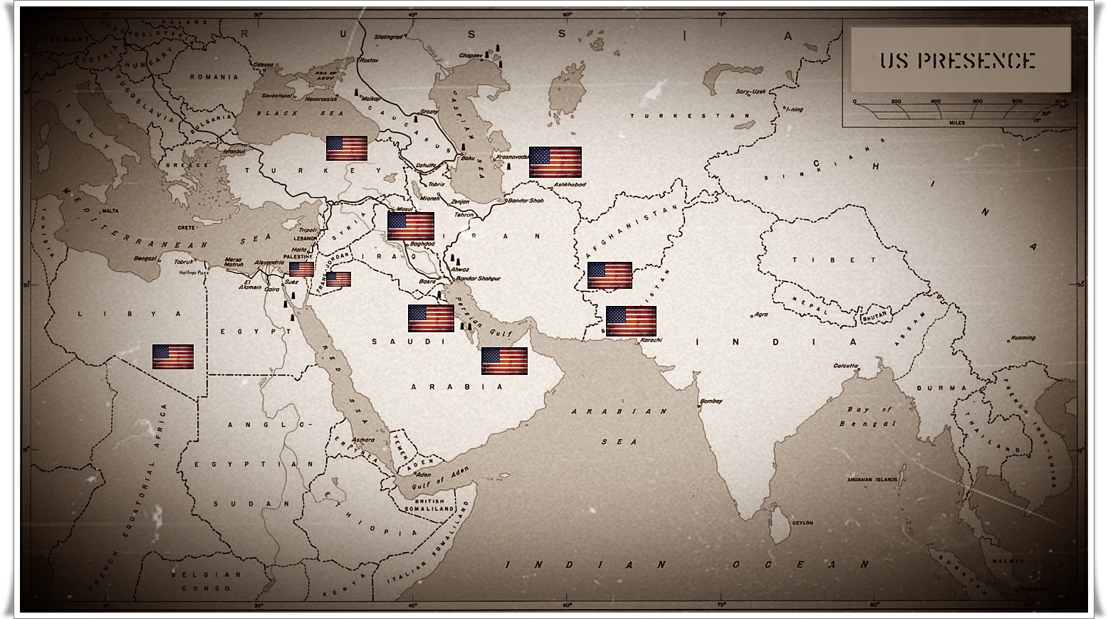 U.S. Makes Wars with Foreign Hands. Part 2: Wars in the Middle East
