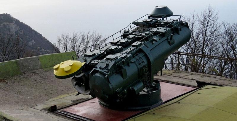 Utes Coastal Missile Systems Return in Service in Crimea